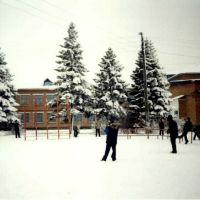 Школа №2 Зимой, Курганинск