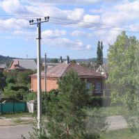 Вид из учебного класса, Абинск