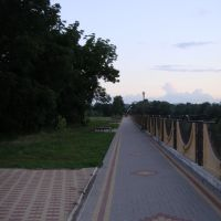 Набережная р. Абин, Абинск