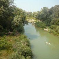 река Абин, Абинск
