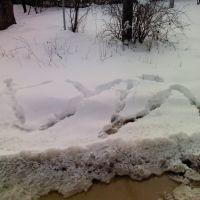 Снег, Абинск