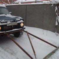 Отвал для снега, Абинск