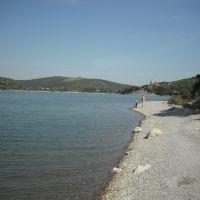 у озера, Абрау-Дюрсо