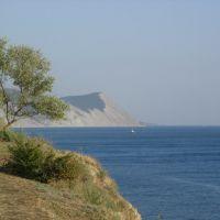 Черное море. Анапа. Вид с Высокого Берега., Анапа