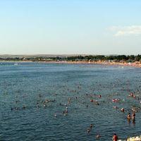 Анапа вид на центральный пляж, Анапа