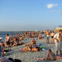 галечный пляж, Анапа