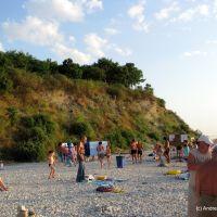 галечный пляж 2, Анапа
