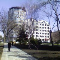 La calle de Krimskaya, Анапа