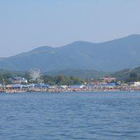 Вид из открытого моря на Архипо-Осиповку, Архипо-Осиповка