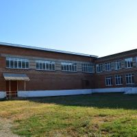 Задний дворик в школе (вид на с/з), Афипский