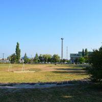 Футбольное поле в школе, Афипский