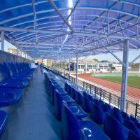 На трибуне афипского стадиона, Афипский