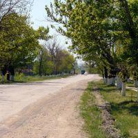 Улица Свободы(в сторону перекрестка), Ахтырский