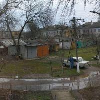 панорама из окна дома Островского 50, Ахтырский