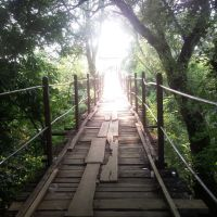 Мост через реку Ахтырь пос. Ахтырский, Ахтырский