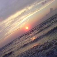 Азовское море.Вечер августа 2011года., Ачуево