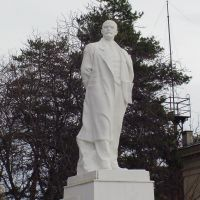 Lenin statue in Belorechensk, Белореченск