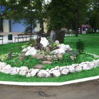 Клумба в городском парке, Белореченск