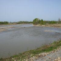 река Белая, 13.04.2008., Белореченск
