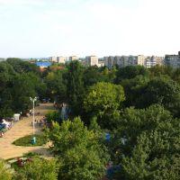 Гор-парк, вид на улицу Ленина, 15.08.2009., Белореченск