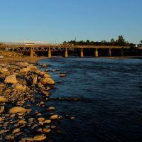 Мост через Белую., Белореченск