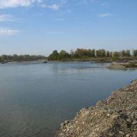 река Белая, 21.10.2006., Белореченск