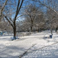 Гор-парк зимой, 29.01.2007., Белореченск