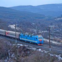 Электровоз ЭП1М-513, Верхнебаканский