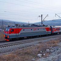 Электровоз ЭП1М-771, Верхнебаканский