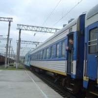 Поезд в Тоннельной в Москву, Верхнебаканский
