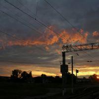 Verhnebakanskiy sunset, Верхнебаканский