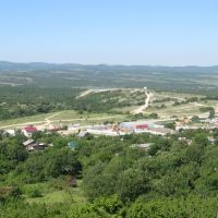 Novorossiysk, the view from the train window, Tunnelnaya, вид из окна поезда, Новороссийск, Тоннельная, Верхнебаканский