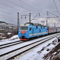 Электровоз ЭП1М-410, Верхнебаканский