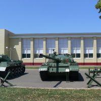 Выселки, местный музей БТТ и РВиА, Выселки