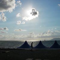 На пляже, Геленджик