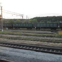 Пути и грузовой состав / Railway, Горячий Ключ