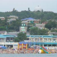 Городской пляж, Джубга