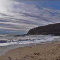 Море зимой ... - Sea in winter ..., Джубга