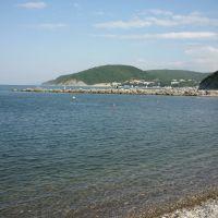 The shore of the Black sea, Джубга