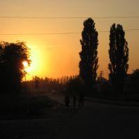 Ж/Д закат, Динская