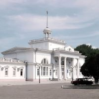 Вокзал / The railway station, Ейск