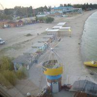 Вид из окна отеля, Ейск