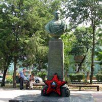 Памятник Герою Советского Союза Хрюкину, Ейск