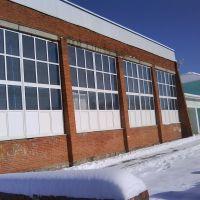 Зима:16 школа,спортзал, Ильский