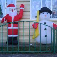 Снеговик и Дед Мороз!, Ильский