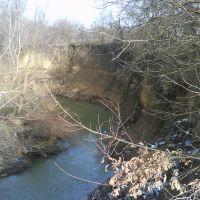 Обрыв в реку, Ильский