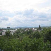 Вид на Собер и посёлок, Ильский