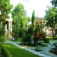 Garden in Kabardinka, Кабардинка