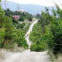 Начало Кабардинского перевала, Кабардинка