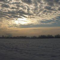 Зимний Краснодар, около Прогресса..., Калинино